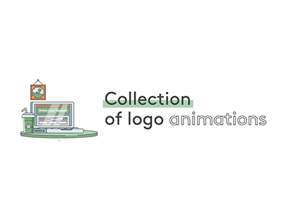 Collection of logo animations