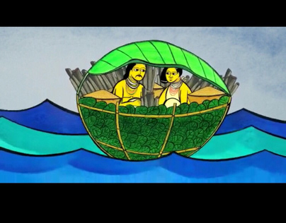 Illustrative mythical stories of Orissa tribes