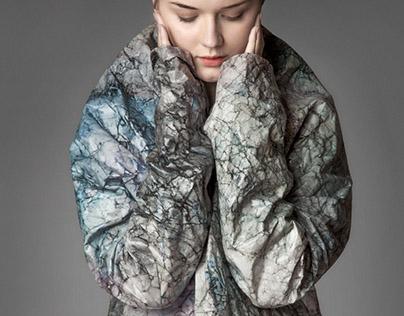 Deconstructure - experimental textile