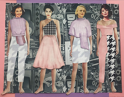 1950'S Houndstooth Collection