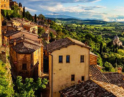 Schnappschüsse in der Toscana
