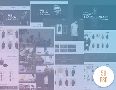 Quato - Fashion eCommerce PSD Template