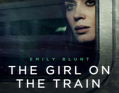 Girl on the train - Digital out of Home Advertising