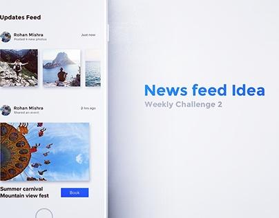 News Feed Idea