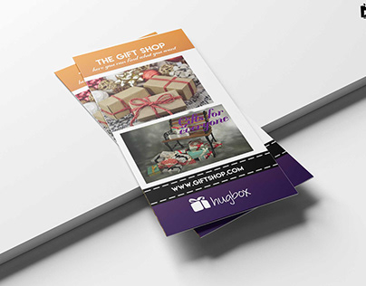 Free Gift Shop Tri-Fold Brochure Template