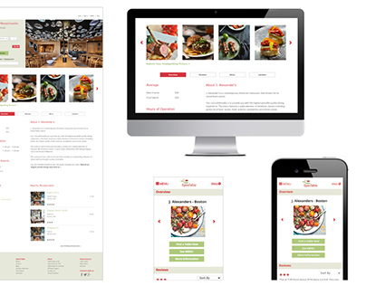 OpenTable Website Redesign