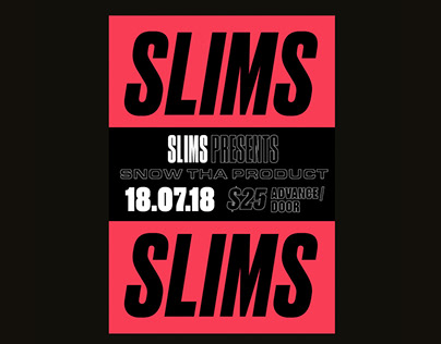 Slim's - Venue Branding
