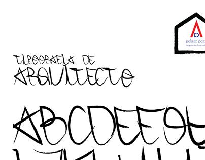 Architect's Font