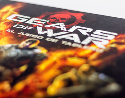 Gears of War: The Boardgame / Graphic Design