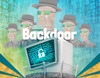 Infográfico - Espionagem Backdoor