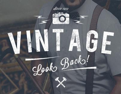 Vintage Look Back !