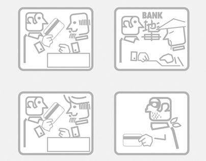 Set of Icons for OTP Bank