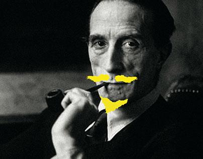 Marcel Duchamp Poster