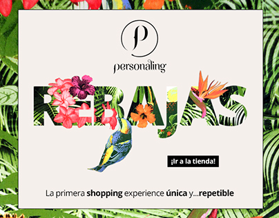 Personaling Spring/Summer Sale Campaign 2014