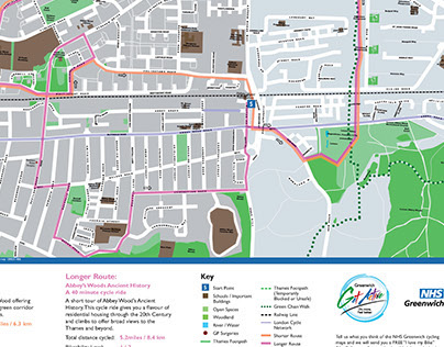 Greenwich Health routes