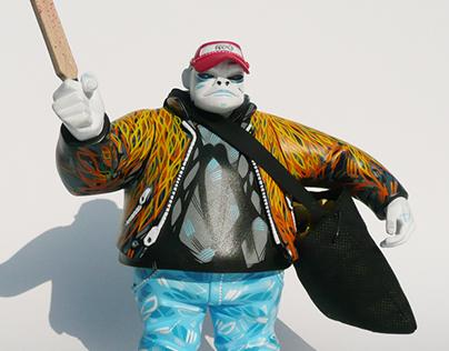 Custom Russel Hobbs - Gorillaz