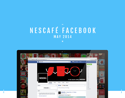 Nescafé - Global Facebook Content May 2014