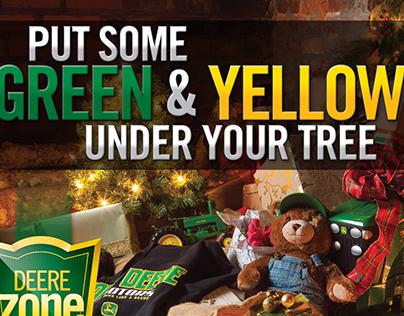 Martin Deerline Christmas Ads