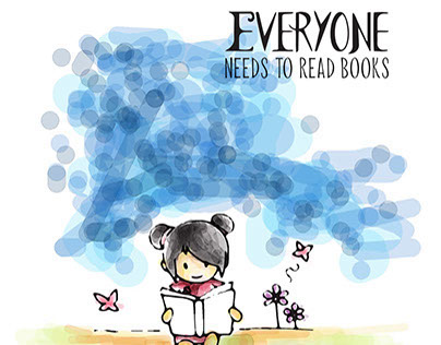 Everyone Needs to Read Books Campaign Part.1