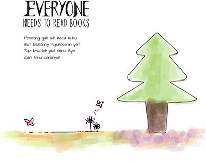 Everyone Needs to Read Books Campaign Part.2