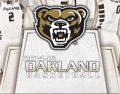 Oakland University | Basketball Program 2014-15