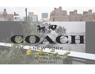 Coach Buying Plan SS15