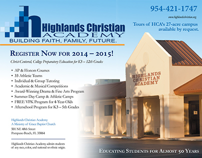 HCA ad for the Observer