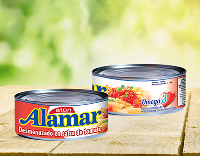 Label | Atún Alamar