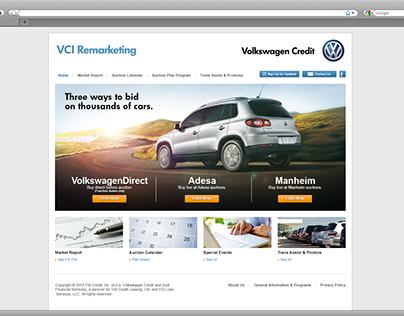 Volkswagen Credit, Inc. Remarketing Website