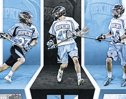 2014 Johns Hopkins Men's Lacrosse Materials