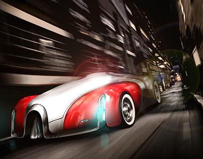 Electric Car of BUGATTI
