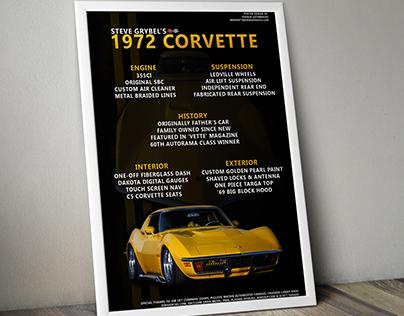 """Steve Grybel's '72 """"Corvette"""""""