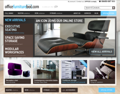 Office Furniture Box: Website