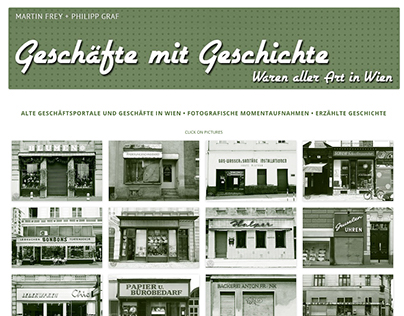 Shops with history – sundry goods in Vienna