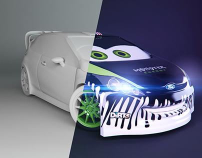 Fiesta Ken Block - Cars Disney