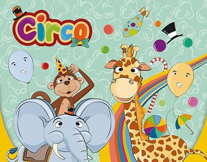 Circo - tema para festa infantil