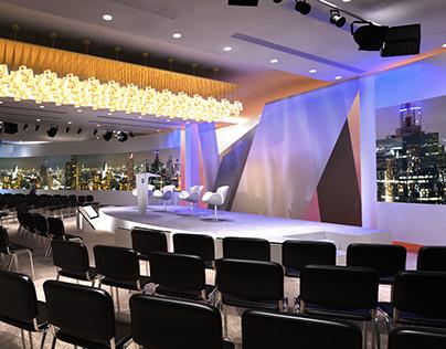 Deutsche Bank Summit Set Designs