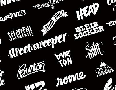 Graphics, Logos, Custom type & Lettering