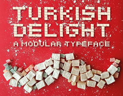 Turkish Delight a Modular Typeface