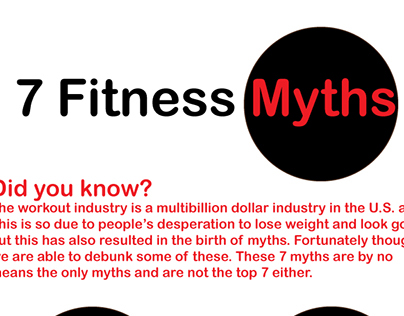 Seven Fitness Myths