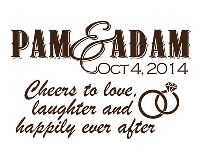 Wedding - Pam & Adam