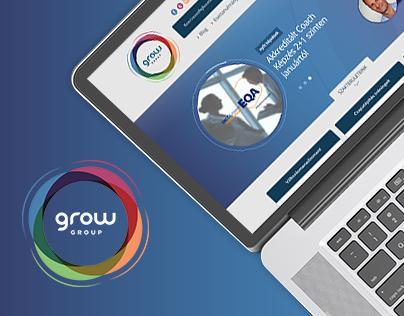 Grow Group - redesign