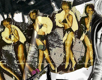 Rihanna Rated R Illustration Project