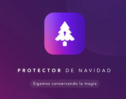 Tarjeta Cencosud - Protector de Navidad