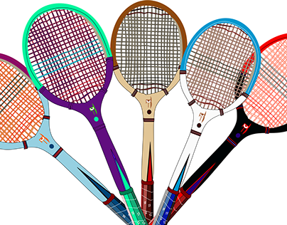 Tennis Racket Projects Photos Videos Logos Illustrations And Branding On Behance