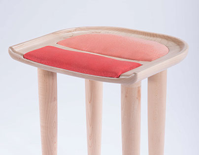 Color Field Stool