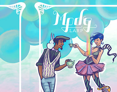 MPDG Larp booklet