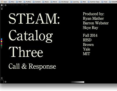 STEAM Catalog Three