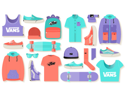 Vans. Free Illustration Kit