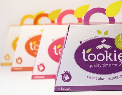 'tookie - quality time for 2' – PACKAGING DESIGN